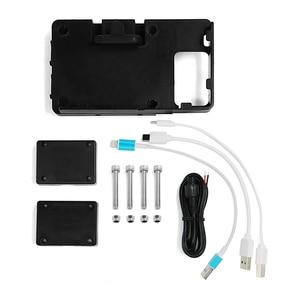 """Image 5 - Fit R1200GS LC/עו""""ד 2013 2018 נייד טלפון USB ניווט סוגר אופנוע USB טעינה הר עבור BMW R 1200 GS גבוהה verson"""
