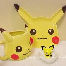 Pokemon Gehen Spiel Kreative Pikachu Reise Kaffeetasse Keramik Tee Wasserflasche Tasse Erwachsene Kinder Geschenke Espressotassen