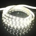 Белый 1 М Супер Яркий Водонепроницаемый Ночного LED Strip Light/СВЕТОДИОДНЫЙ Свет Ремешок/Свет Бар 12 В с 3 М Клей патч
