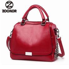 2018 New fashion rivet Women Bag High Quality PU Leather Casual Tote Shoulder Bags Ladies Vintage Handbags