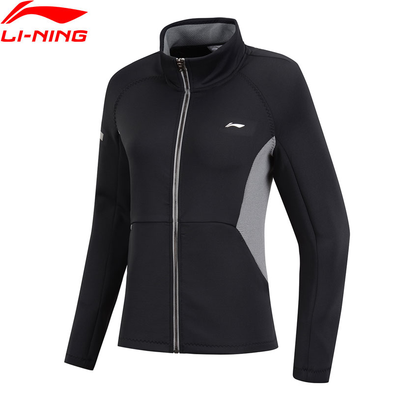FäHig Li-ning Frauen Ausbildung Pullover Zipper Slim Fit 3d Fitting Komfort Jacke Fitness Futter Sport Pullover Awdn782 Www995 100% Original Trainings- & Übungs-sweater