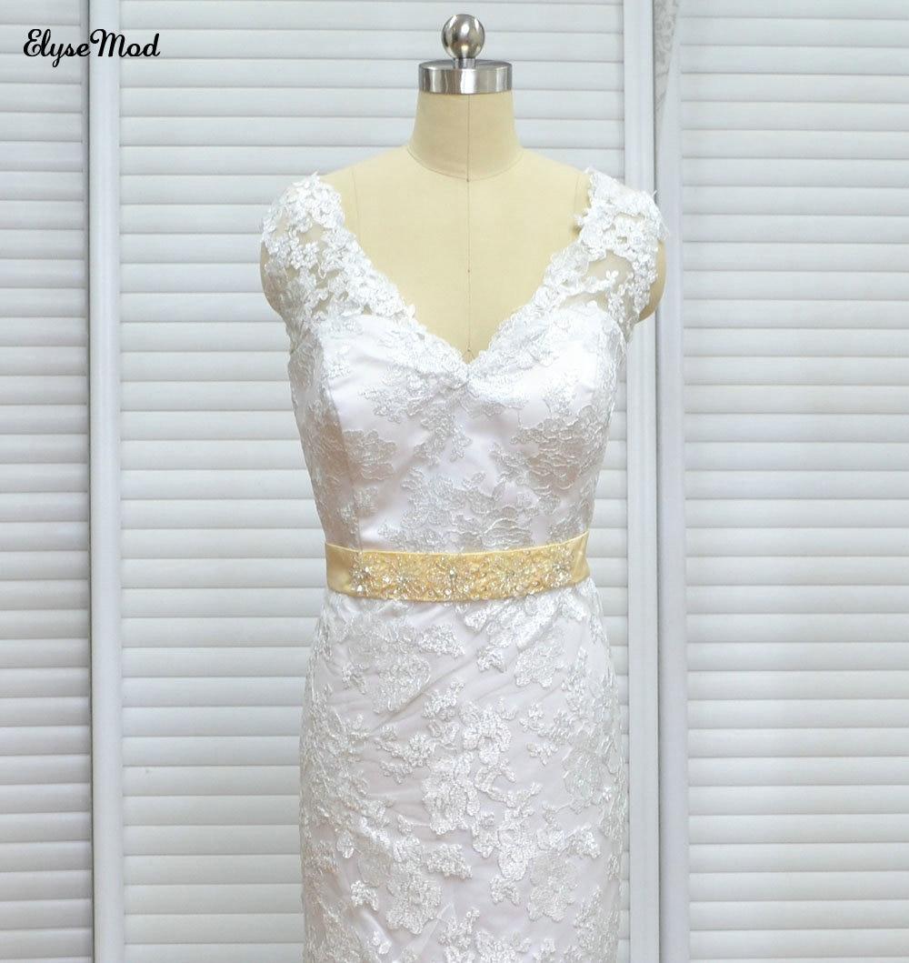 Imagine reală prințesă maternitate rochie de mireasa rochii de - Rochii de mireasa - Fotografie 3