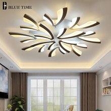 Творческий акрил Современные светодиодные люстры для гостиная спальня кухня светильники поверхностного монтажа светодиодный потолочный люстры-украшения