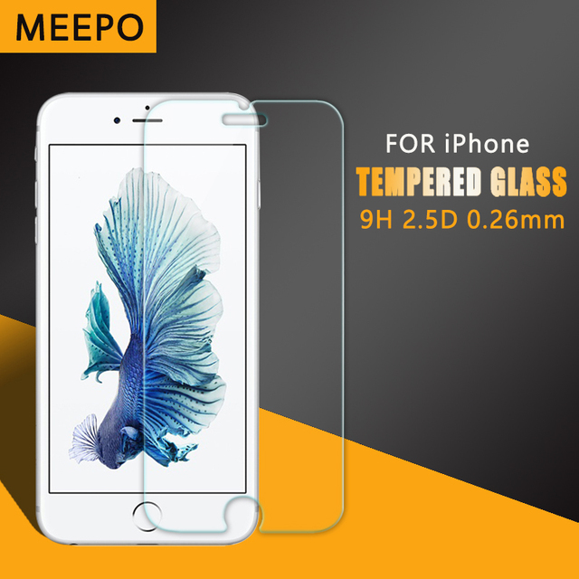 Premium Tempered Glass for iPhone 6 apple Explosion-proof 9H 2.5D Anti-scratch Screen Film Protector for iPhone 4 5 6S 6 plus