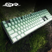 Natural keycap, pbt dye sub keycap, mechanical keyboard keycap. novelties keycap
