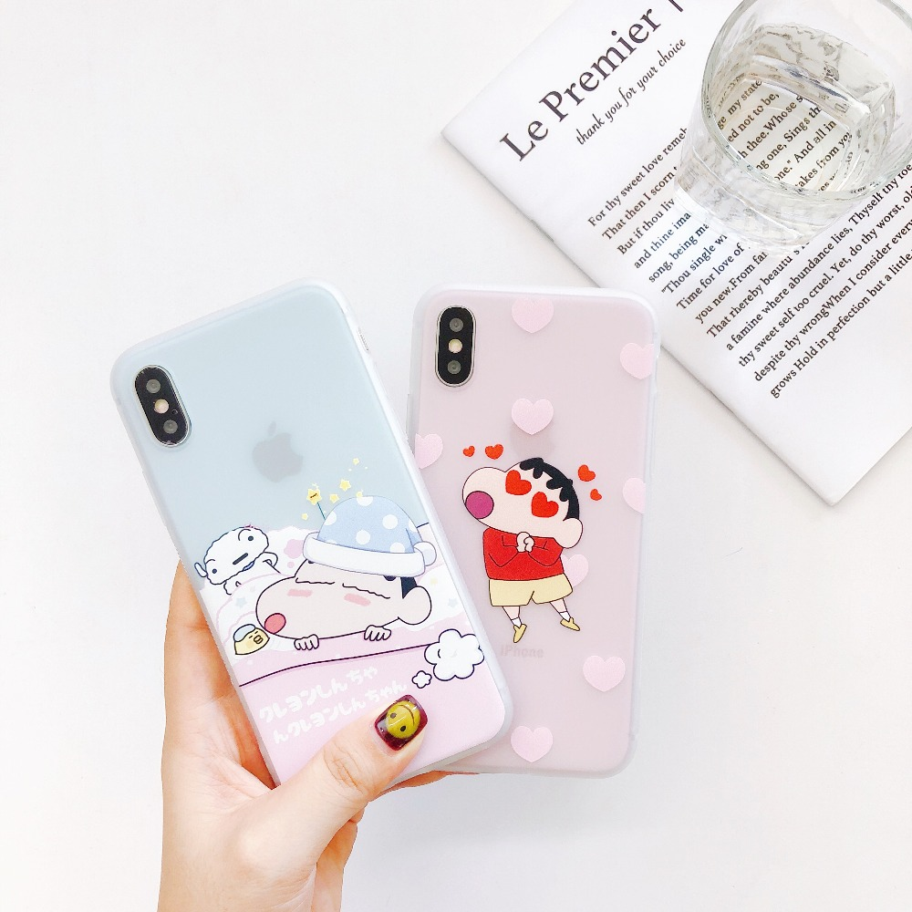 Crayon Shin Chan Anime Cartoon In Japan Phone Case For