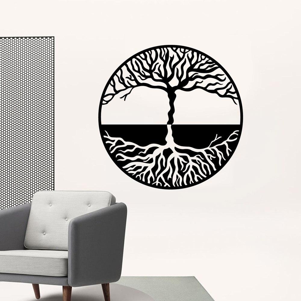Fun Tree Self Adhesive Vinyl Waterproof Wall Decal Kids Room Nature Decor Art Mural
