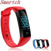 Smartch IP67 Водонепроницаемый Спорт фитнес трекер M2S hr и bp умный Браслет кислорода Bluetooth smartband для Android и IOS