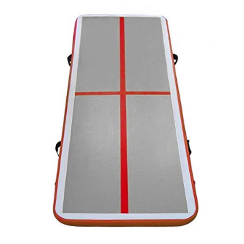 3000*1000*100mm Inflatable Taekwondo Cushion Training Mattress Air Floor Tumbling Gymnastic Cheerleading Mat Trick Pad With Pump