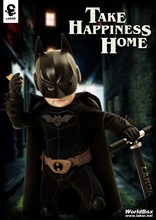 1 6 scale doll model 15cm Lakor BABY 6 Action figure doll Batman baby Suitable for