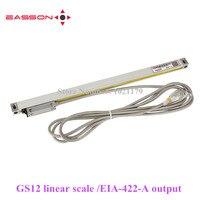 Easson 422 GS12 линейный линия датчик УЦИ цифровые линейные весы GS12 EIA 422 A 0,005 мм 5um Линейный Стекло энкодер измерительной линейки