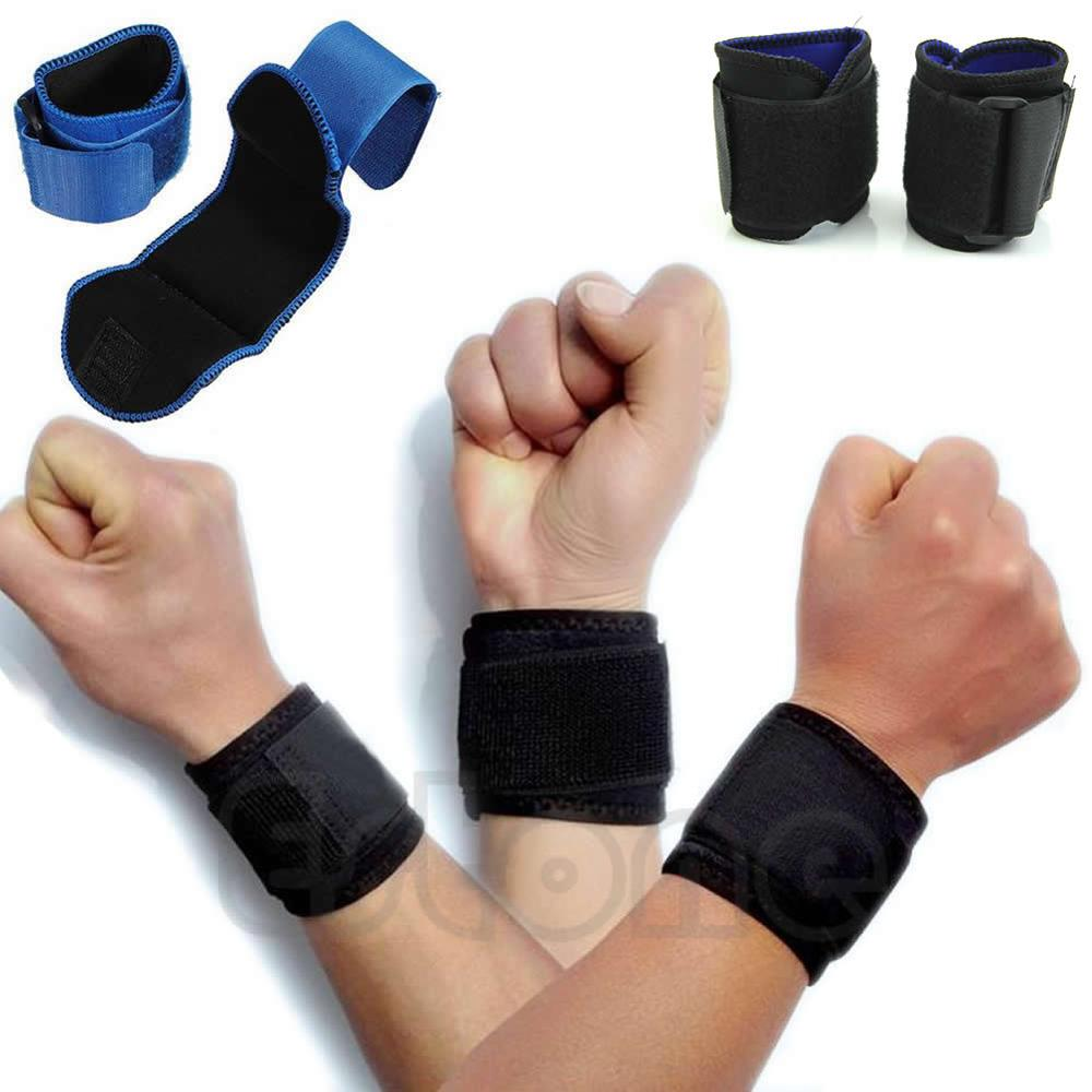 Hot Adjustable Wrist Support Brace Brand Wristband Aolikes Men and Women 1 PC Gym Wrestle Professional Sports Protection Wrist