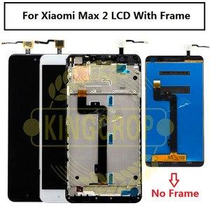 Image 4 - Xiao Mi Mi Max Lcd Touch Screen Digitizer Vergadering Voor Xiao Mi Mi Max 2 Lcd Max2 Max 3 screen Vervanging Zwart Wit