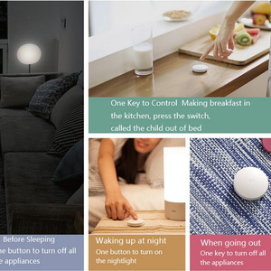 Image 4 - Gebundeld Verkopen Xiaomi Mijia Smart Draadloze Schakelaar Smart Home Apparaat Accessoires Huis Control Center Intelligente Voor Mihome App