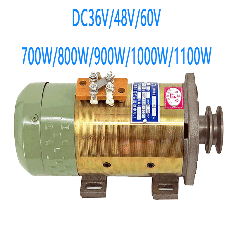 700rpm Dc Series Motor/hydraulic Oil Pump Motor Dc36v/48v/60v 700w/800w/900w/1000w/1100w Speed 3500rpm Output Speed