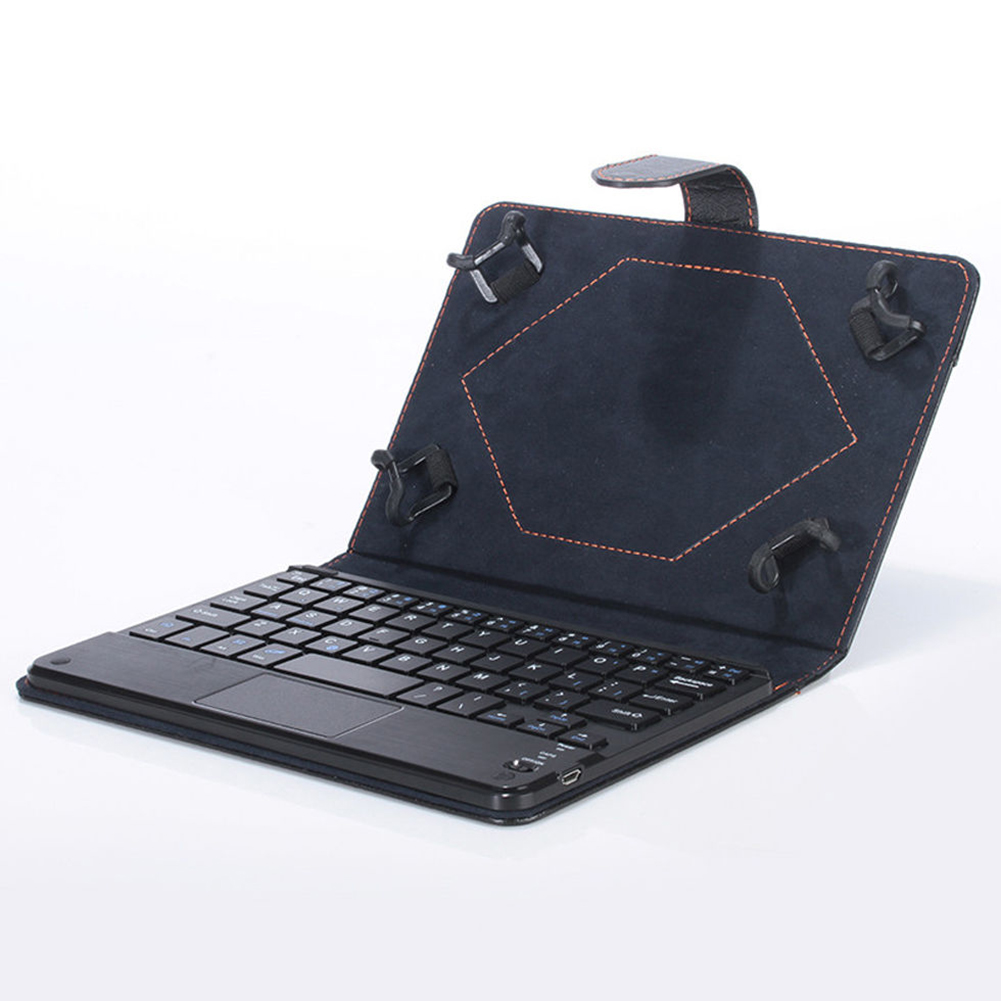"""With Touchpad Bluetooth Keyboard Holster For Tablet Universal 7 """""""