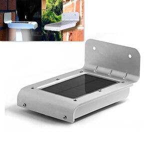 Image 1 - Led ソーラー電源センサーランプサウンド/motion 検出ガーデン防犯灯屋外防水ホワイトガーデンソーラーライト IP66