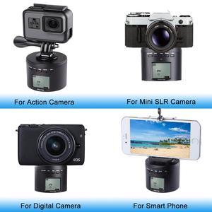 Image 4 - אלקטרוני פנורמה כדור חצובה ראש לgopro/טלפונים חכמים/מצלמות דיגיטליות/DSLRs חשמלי מתאם עבור DJI אוסמו פעולה מצלמה