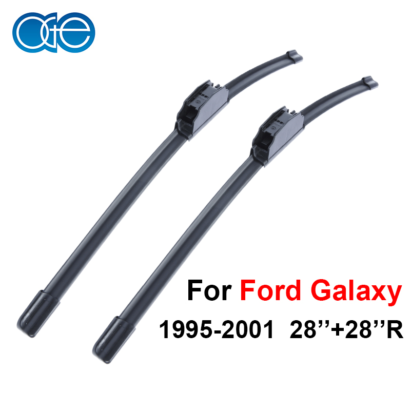 Oge Windshield Wiper Blades For Ford Galaxy 1995-2001 28''+28''R Windscreen Accessories wiper blades for ford s max 30