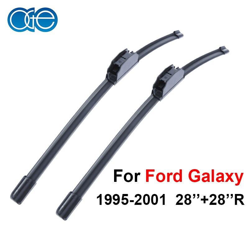 Oge Windshield Wiper Blades For Ford Galaxy 1995-2001 28''+28''R Windscreen Accessories oge windshield wiper blades for ford galaxy 1995 2001 28 28 r windscreen accessories