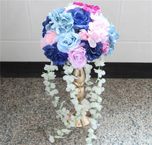 30cm Free shipping wedding centerpiece wedding table decoration flowers Rose Pitaya Road lead flower (only the flowers)2pcs/lot