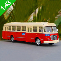 Exquisite 1:43 ABS plastic car model,simulation Skoda Corossa 706RTO bus,classic collection&gift model,free shipping