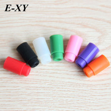 E-XY Silicone Mouthpiece Cover Individually Silicon Test Drip Tips Disposable Rubber Drip Tip Cap for vape