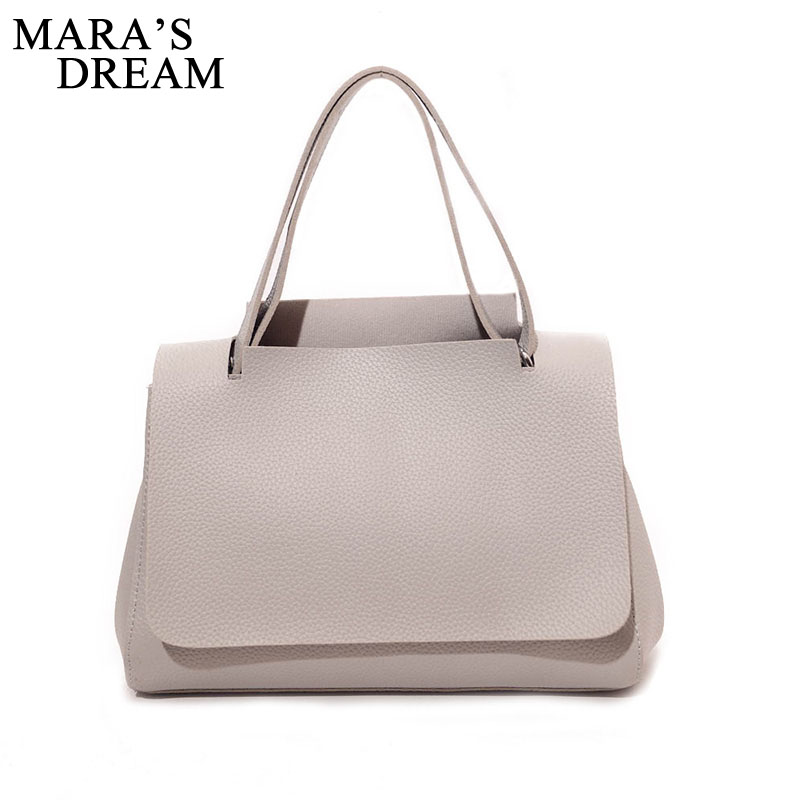 Mara's Dream New Fashion Women Bag Ladies Brand PU Leather Handbags Casual Tote Bag Shoulder Bags For Woman Small Female Bags