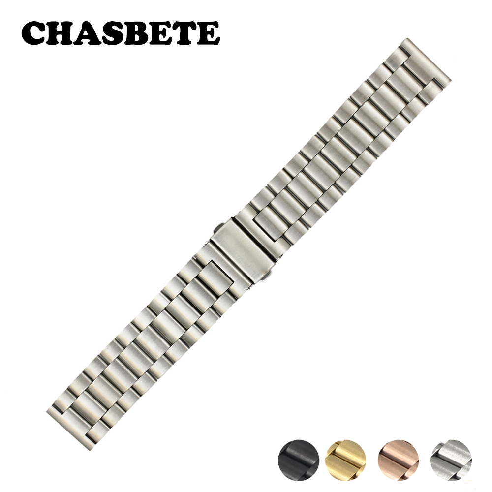 18mm 20mm 22mm Stainless Steel Watch Band for Timex Weekende