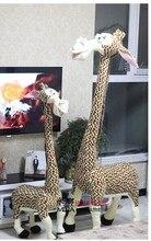 huge plush giraffe toy lovely plush giraffe toy stuff big creative giraffe doll gift doll about 140cm