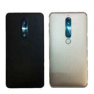 ZUCZUG новый металлический задний корпус крышка батареи для Nokia 6,1 2018 TA-1043 TA-1045 TA-1050 TA-1054 TA-1068 задний корпус