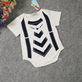 2016 Summer Baby Bodysuit Cotton Infant Body Bebes Short Sleeve Clothing Cool Baby Jumpsuit Printed Baby Boys Bodysuits