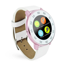 Touchscreen Bluetooth Smart Uhr Sport Armbanduhr für iPhone Xiaomi HTC Samsung S6 S5 S4 Anmerkung3 ZGPAX Leder Band Smartwatch