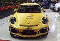 991 Body Kit Fiber Glass And Carbon Fiber Fornt Bumper Rear Bumper Car Styling Tuning Parts Case For Porsche Carrera 991 2013