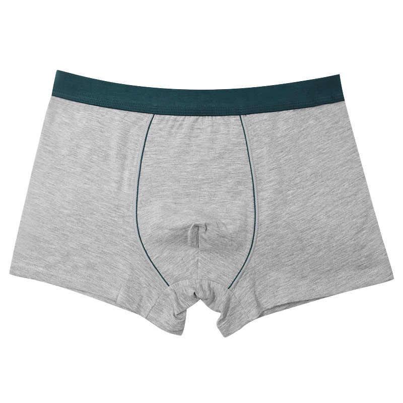 5 قطعة/الوحدة! القطن الرجال الملاكمين تهوية زائد حجم سراويل بوكسر الصلبة لينة الملابس الداخلية Bokserki xl إلى 8xl