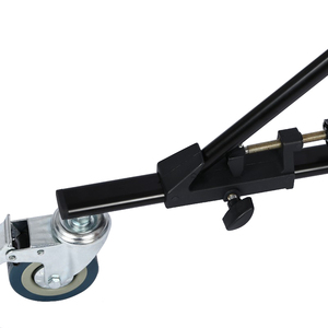 Image 4 - Roulette universelle résistante de Studio de Photo de 3 pièces pour des supports légers et la Boom de Studio