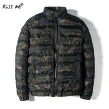 Men's Winter Jacket Warm Camouflage Jackets Men Padded Overcoat Casual Brand Down Parka Plus Size 4XL Drop Shipping