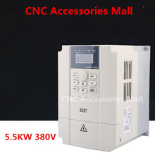 цена на 5.5kw 380V BEST Frequency Inverter VFD Variable Frequency Drive for spindle motor