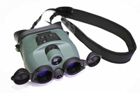 Night Vision Tracker 1x24 Goggles Night Vision Scopes Helmet Mounted Hunting Binocular