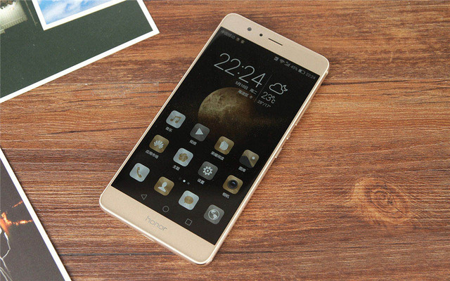 """DHL Fast Delivery HuaWei Honor V8 4G LTE Mobile Phone Android 6.0 5.7"""" 2K 2560X1440 4GB RAM 64GB ROM Fingerprint NFC VR Glass"""