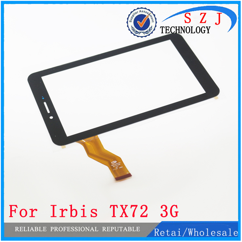Original 7'' inch Case Irbis TX72 TX72 3G Touch Screen Digitizer Glass Touch Panel Sensor replacement Free Shipping 10pcs/lot new touch screen digitizer for 7 irbis tz49 3g irbis tz42 3g tablet capacitive panel glass sensor replacement free shipping