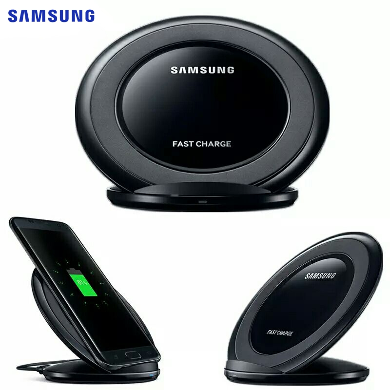 SAMSUNG Original QI Wireless Charger Fast Charging Pad EP-NG930 for SAMSUNG S8 Plus Note8 G9350 G9550 G9280 Note5 iPhone 8 Plus