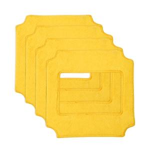 BOBOT 4Pcs Square Microfiber C