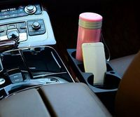 Car Styling Cup Cell Phone Drinks Holder For Toyota RAV4 2013 2014 Camry 2012 Vios 2008