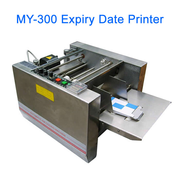 MY-300 box produce date printing machine, expiry date printer 241b electrical expiry date printing machine for plastic bag