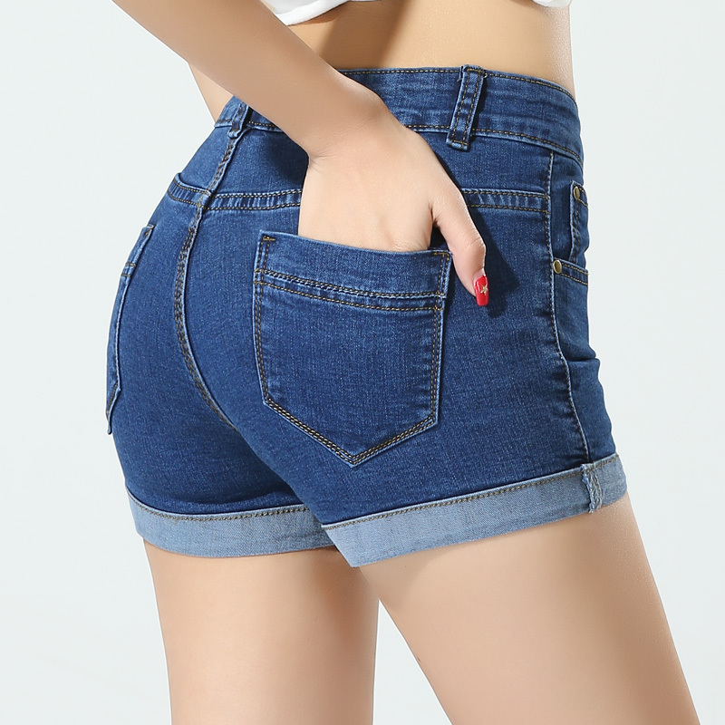 Return Of The Spice Girls Wallpaper Sexy Hot Women Summer Jeans Shorts Slim Ladies Casual