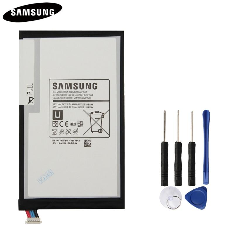 100% Original Tablet Battery EB-BT330FBU EB-BT330FBE For Samsung GALAXY Tab4 SM-T330 T331 Genuine Replacement Batteries 4450mAh100% Original Tablet Battery EB-BT330FBU EB-BT330FBE For Samsung GALAXY Tab4 SM-T330 T331 Genuine Replacement Batteries 4450mAh