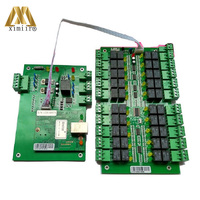 Control 20 Floors RFID Elevator Access Control Board Lift Controller Elevator Access Control System DT20/DT20K