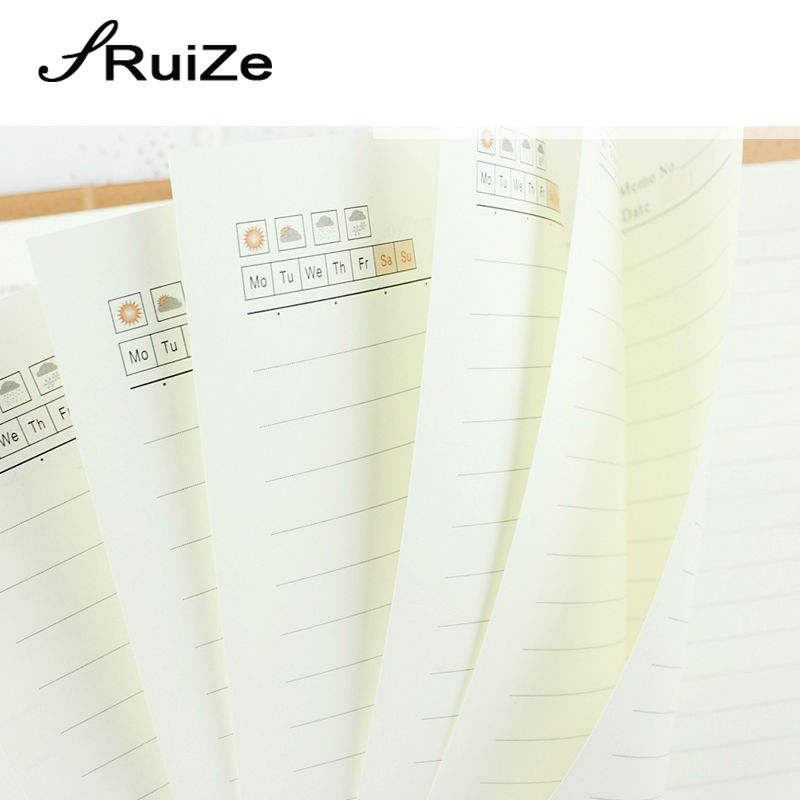 RuiZe 2017 σκληρό εξώφυλλο φορητό δέρμα - Σημειωματάρια - Φωτογραφία 6