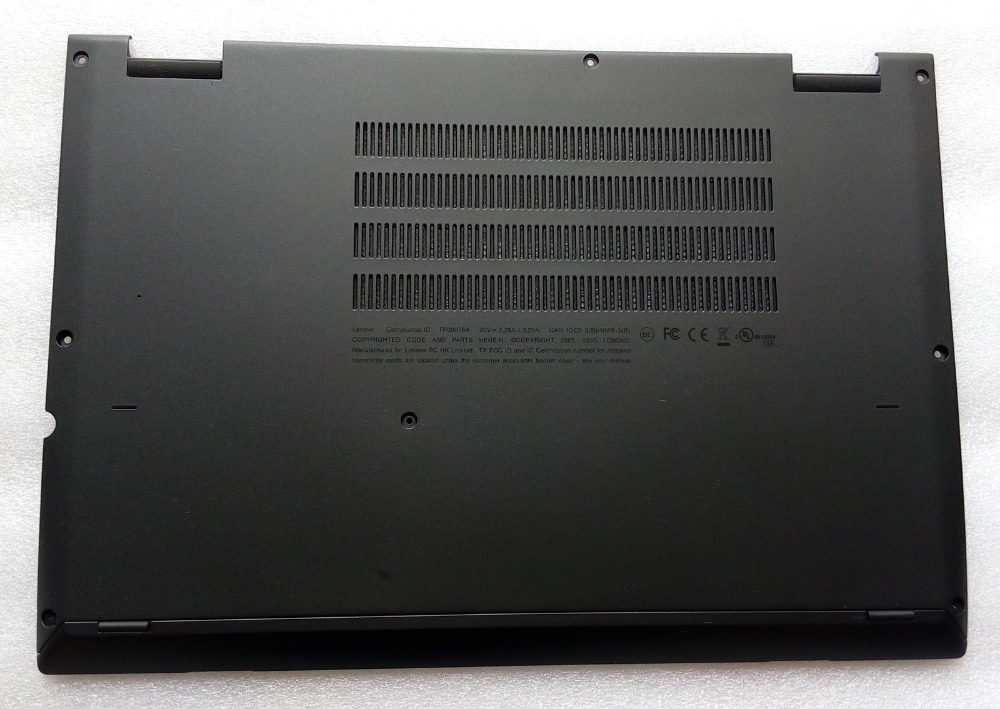 New Original for Lenovo ThinkPad Yoga 260 Bottom Base Cover Lower Case Black gzeele new laptop bottom base case cover for hp for elitebook 8560w 8570w base chassis d case shell lower case 652649 001 black